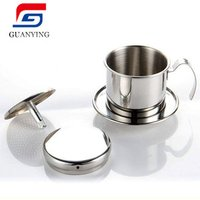 Coffee Drip Filter Stainless Steel Vietnamese Coffee Filter