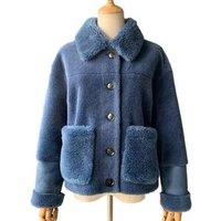 Custom Made Hand Women Coat 100% Sheep Fur Jacket Wholesale Spring Autumn Fashion Female OEM Wool Coat