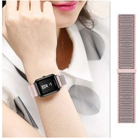 20mm Nylon Loop Strap for Xiaomi Huami Amazfit Bip BIT Lite Youth Smart Watch Wearable Wrist Bracelet Amazfit Watchband