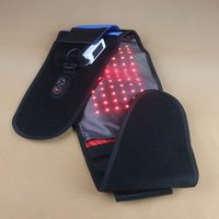 New style adjustable LED red light infrared therapy pads  body slim pain relief wrap