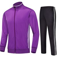 Latest Design Your Own Tracksuit Men Fitted Tracksuit Set Football Track Suit Tracksuit
