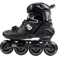 High Quality Factory Direct Wholesale Price PU High Rebound 4 Wheels CNC Integrated Aluminum Metal Customized Inline Skates