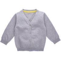 Stock Clearance Wholesale V Neck Kids Knit Sweater Cotton Baby Boy Knitted Cardigan