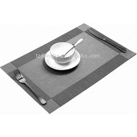 Tabletex cheap handmade folding custom anti slip plastic dining kitchen pvc table mat