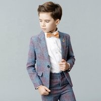 New design factory price formal prince childrens baby suit for boys suit mini world