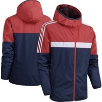 Custom breathable waterproof wholesale lightweight sunscreen polyester running sports hoodie windbreaker jacket for men