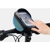 Bike Phone Bag Waterproof phone Case Fastening System Suitable All bicycle handlebars Touch Screen Holder Frame Pouch for Riding