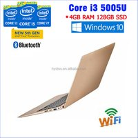 Ultra thin Laptop Computer notebooks Core i3 CPU Laptop China Low price WiFiandBluetooth Laptop i3 5005U