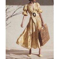 new style short sleeve flower satin  elegant bride maxi evening dress for women party wear A3013