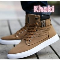 2018 Hot Men Shoes Fashion Warm Fur Winter Men Boots Autumn Leather Footwear For Man New High Top Canvas Casual Shoes Men