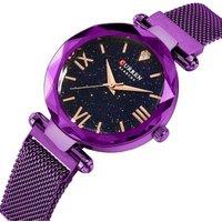 New CURREN 9063 Luxury Women Watches Magnet Starry  Watch Women Fashion Diamond Dress Quartz Wristwatches Relogio Feminino