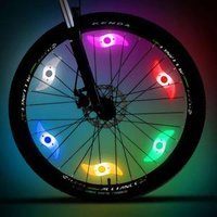 Colorful Sport Outdoor Cycling bicycle spoke light led bike wheel lights