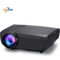 Video Projector, Portable Home Cinema Projector LED Projector 2200 Lumens Support Full HD 1080P HDMI USB VGA AV