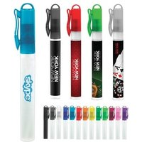 '10 Ml Simple Healthful New Private Label Pocket Portable Perfume Antibacterial Plastic Mini Refillable Pen Hand Sanitizer Spray