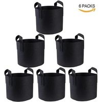 Factory Made,Garden Grow Bags 3 Gallon 5 Gallon 7 Gallon 10 Gallon Aeration Fabric Pots Container Garden Potato Felt Grow Bag