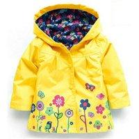 2017 Autumn Winter Girls Jacket For Girls Windbreaker Boys Jacket Kids Raincoat Trench Coat Children Outerwear Girls Clothes