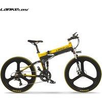 EU Quality 26 inch Full Suspension Folding Mountain E-bike Electric Mountain Bicycle