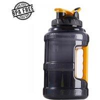 Big BPA FREE 2.5L Plastic Shaker Bottle Sports Gym Fitness Bodybuilding Water Bottle, Training Jug