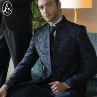 Guangzhou manufacturer latest design coat pant men tuxedo suits