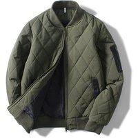 Wholesale Custom winter men blank fashion causal team uniform duck down bomber jacket