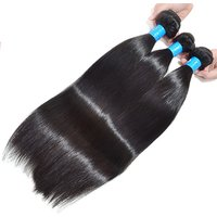 New arrival virgin brazilian hair bundle vendors remy cuticle aligned hair extension closure