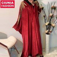 6174# velvet turquie big free size cape muslim open kimono designs latest designs jalabiya kaftan eid arab abaya wholesale