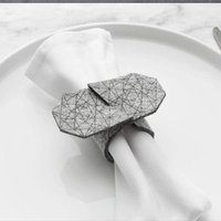 Amazon promotion high quality cheap bulk decorative felt napkin ring