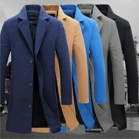 mens Fashion long winter trench coat wholesale