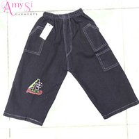 1.24 USD BK042 China factory 3 - 7 years kids boys shorts jeans, cheap denim shorts, denim shorts half pants