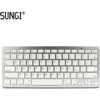 'Sungi Hot Sale Bluetooth Keyboard 3.0 Wireless For Ipad Android Windows Tablet Powered By Aaa Battery Factory Supply