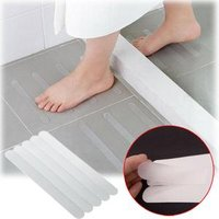 6pcs/set Anti Slip Bath Grip Stickers Non Slip Shower Strips Pad Floor Safety Tapes