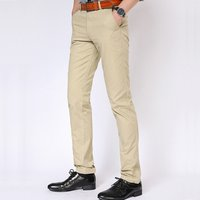 Mens Cotton Casual Wholesale Chino Pants Trousers