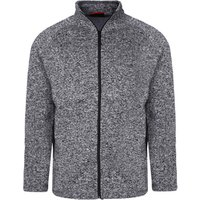 High quality sport winter men outwear knit fleece plain solid color single layer man jacket