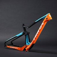2019 Trifox carbon downhill bike frame double suspension  12* 148 thru axle