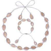 2019 Hawaiian Cowrie Sea Shell Beach Style Choker Necklace Shell Set