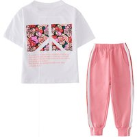 Children Clothing 2019 Summer Girls Clothes 2pcs Set Outfits Kids Clothes Toddler Suit For Girls Clothing Sets