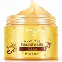 Bioaqua Brand Best Beauty Foot Skin Care Moisturizing Exfoliation Scrub Foot Massage Cream