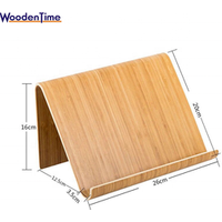 New Design Simple and Elegant Bamboo Phone Holder /Natural Wooden Bamboo Laptop Universal Tablet Stand
