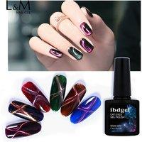 ibdgel brand organic glaze cat eyes gel nail polish magnetic 5d