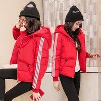 Winter Korean Version Cotton Long  Large Size Slim Down Cotton Women Thick Coat women
