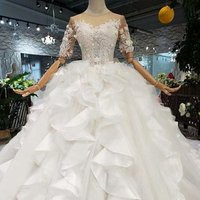 new product luxury wedding dress bridal gown 2019 latest wedding gowns