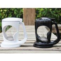 400ML Magic Plastic Tea Maker Perfect Cup Bottom Dispensing Teapot Dripping Free