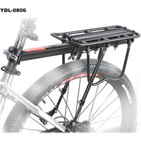 aluminum alloy bicycle rear rack bike rear rack with reflective film