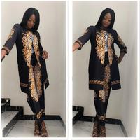 women suit slim fit design ladies office style fashion business printed suit