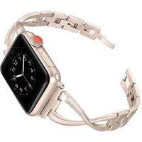 Fashion Luxury Bling Rhinestone Bangle Replacement Strap for Apple Watch Band Stainless Steel Women Bracelet