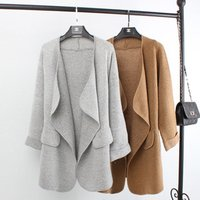 Best selling ladies winter shrug coats cardigan sweater