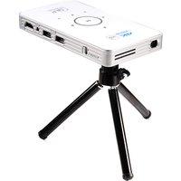 2017 newest original factory mini projector C6 handheld Portable projector DLP50 wifi 5g bt 4.0 mini projector