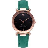 In stock women quartz leather wrist watch,pu leather relojes de mujer for sale