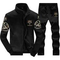 Wholesale men sweatshirt training sets sportswear sports jogging suit men