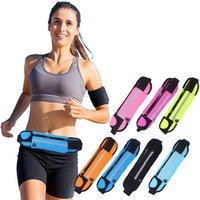 Wholesale Customized Outdoors Waterproof Multifunction Waist Pack Neoprene Mobile Phone Sport Waist Bag For Running